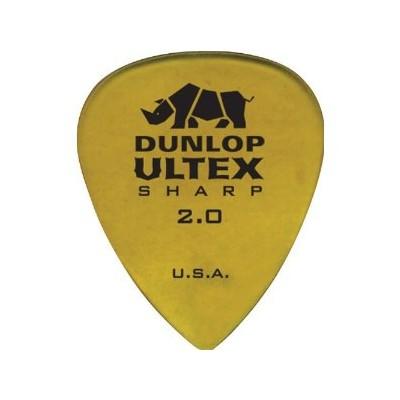 Picks Jim Dunlop 433P2.00 Ultex Sharp 2.00 (6) - Jim Dunlop - 433P2.00