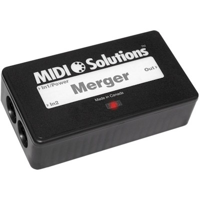 Interface Midi Solutions Merger 2 Input - Midi Solutions - MERGER