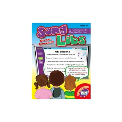 Music Song Libs (Interactive Whiteboard Games, Gr.2-6)
