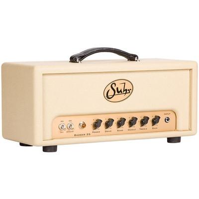 Amp Guitar Suhr Badger 35 Watt Head Wine - Suhr - SUHR BADGER 35 WATT HEAD WINE