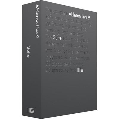 Ableton Live 9 Suite Software - Upgrade from Live LITE - Ableton - SUITE 9 UPG FROM LIVE LITE