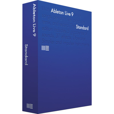 Ableton Live 9 Standard Software - Upgrade from Live LE/Intro - Ableton - LIVE 9 UPG FROM LIVE LE / INTRO