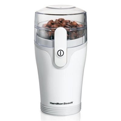 Hamilton Beach 12-Cup Coffee Grinder - White