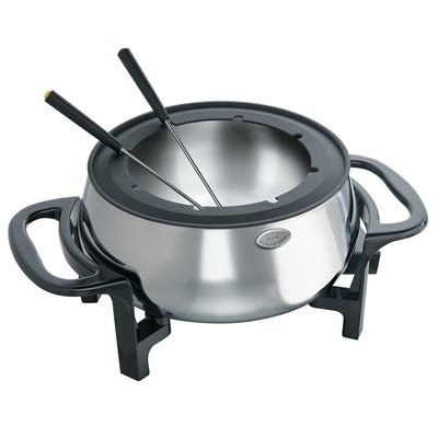 Rival Electric Fondue - Black/Stainless Steel FD350S