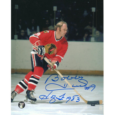 Bobby Hull Autographed 8X10 Photo