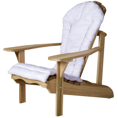 ADIRONDACK Chair Cushion - (white)