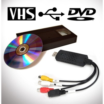 VHS to USB Converter (New and Improved) (Electronic Accessories)
