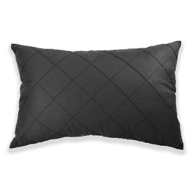 Nygard Home Country Club Breakfast Cushion - Black