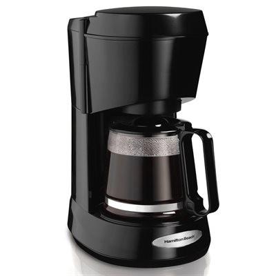Hamilton Beach 5-Cup Coffee Maker - Black