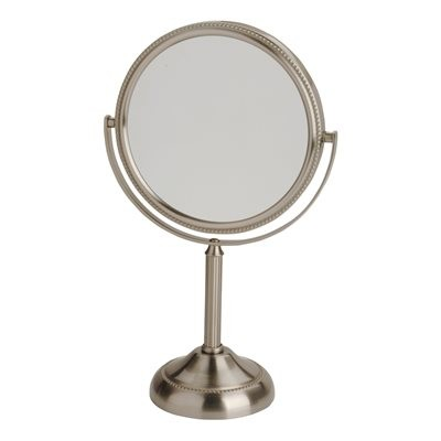 "Jerdon Vanity Mirror 10X / 6"" - Matte Nickel"
