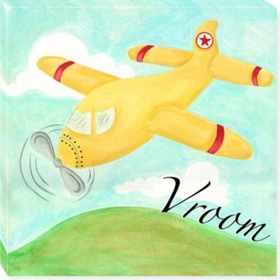 AIRPLANE canvas art 14x14