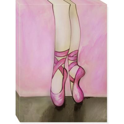 TOES canvas art 18x24