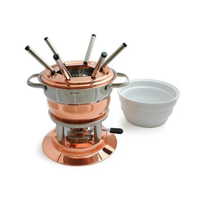 Lausanne 11-PC Copper Fondue Set
