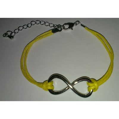 3 X Infinity Symbol Bracelet - Yellow Color