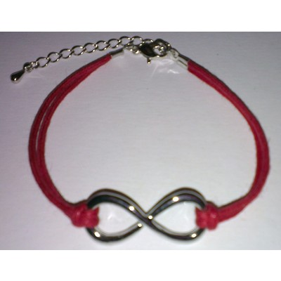 3 X Infinity Symbol Bracelet - Red Color