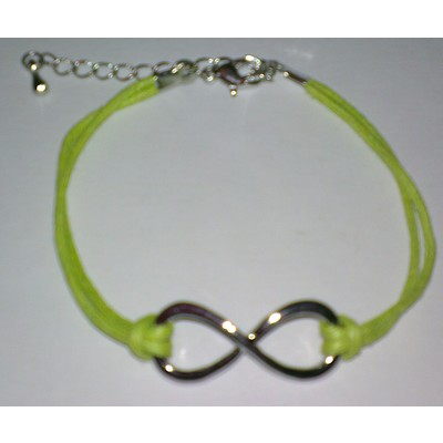 3 X Infinity Symbol Bracelet - Green Color