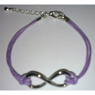 3 X Infinity Symbol Bracelet - Purple Color
