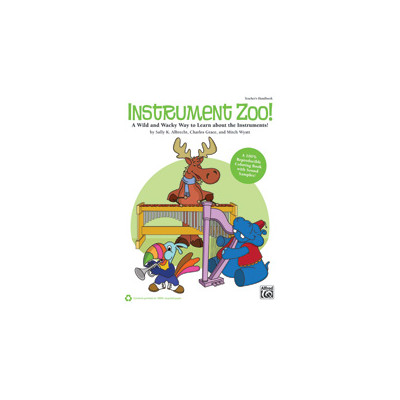 Music Instrument Zoo - Learn about the Instruments w/cd