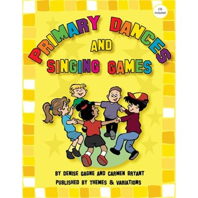 Music Primary Dances & Singing Games w/CD