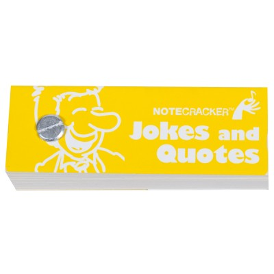 Notecracker, Jokes and Quotes Trivia Game - Hal Leonard - 14023487