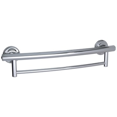 2-IN-1 Towel & Grab Bar (Polished Crome)