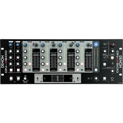 Denon DN-X500 Professional Mobile/Club Mixer - Denon - DNX500E3