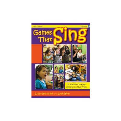 Music Games That Sing w/CD (PreK-1)