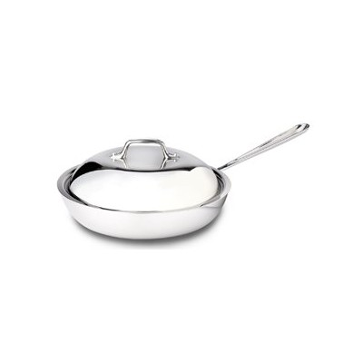 All-Clad Tri-Ply Stainless French Skillet - 11 - Dome Lid