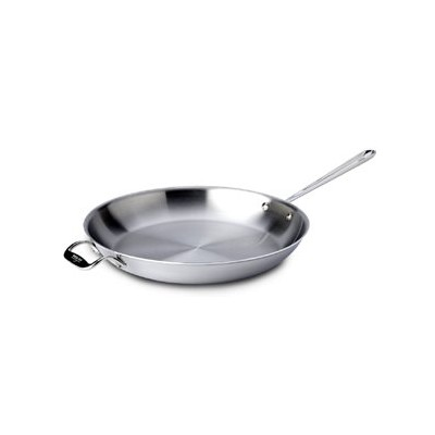 All-Clad Tri-Ply Stainless Skillet - 14""