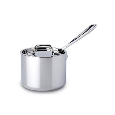 All-Clad Tri-Ply Stainless Sauce Pan - 2 qt