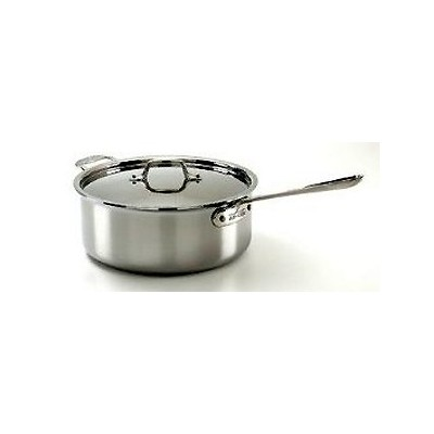 All-Clad Tri-Ply Stainless Saute - 6 qt - Deep