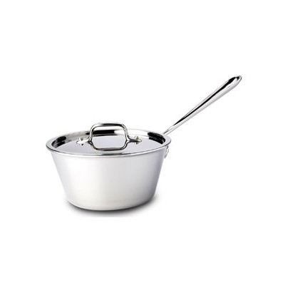 All-Clad Tri-Ply Stainless Windsor Sauce Pan - 2�½ qt