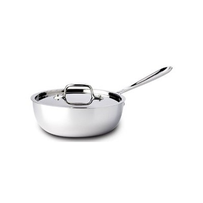 All-Clad Tri-Ply Stainless Saucier - 3 qt