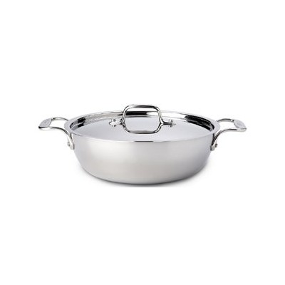 All-Clad Tri-Ply Stainless Cassoulet - 3 qt