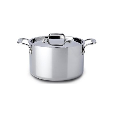 All-Clad Tri-Ply Stainless Casserole - 4 qt