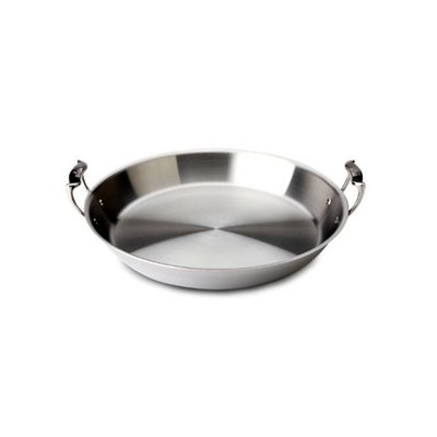 All-Clad Tri-Ply Stainless Paella Pan - 16""