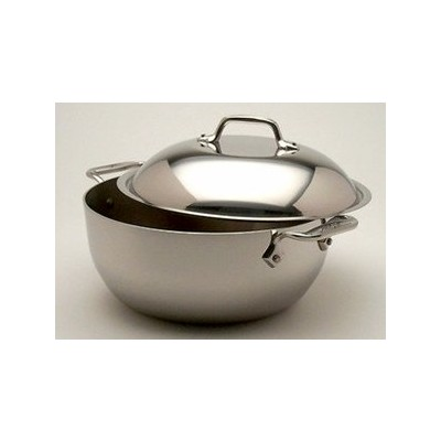 All-Clad Tri-Ply Stainless Dutch Oven - 5���½ qt
