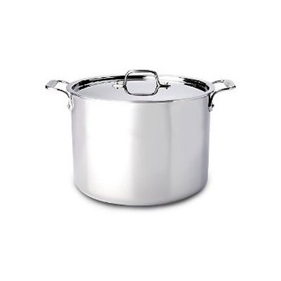 All-Clad Tri-Ply Stainless Stock Pot - 12 qt