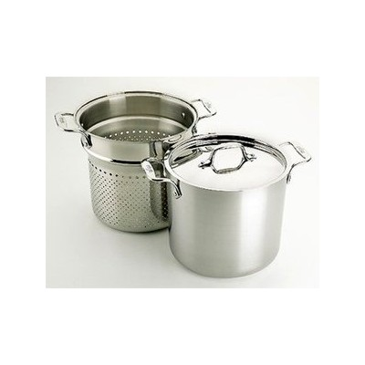 All-Clad Tri-Ply Stainless Pasta Pot - 7 qt