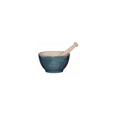 Emile Henry Natural Chic Mortar and Pestle - Blue