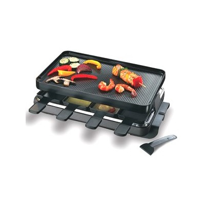 Swissmar Classic Raclette with Grill - Black
