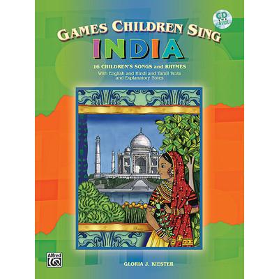 Music Games Children Sing India w/CD