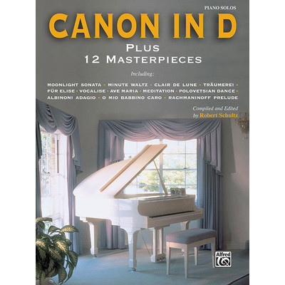 Music Canon in D plus 12 Masterpieces - Alfred Music - 00-ELM00011