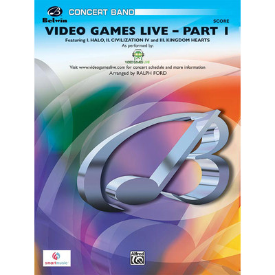 Score Video Games Live Part 1 - Shimamura arr Ford (CB Gr.3) - Alfred Music - 00-26757