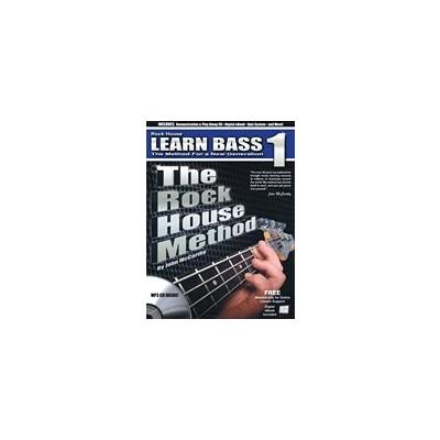 Music Rock House Method: Learn Bass 1 w/CD