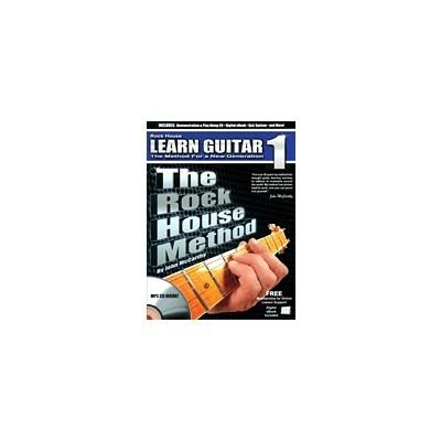 Music Rock House Method: Learn Guitar 1 w/CD