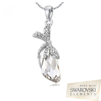 Swarovski Elements Crystal Dragonfly Pendant 18 Inches