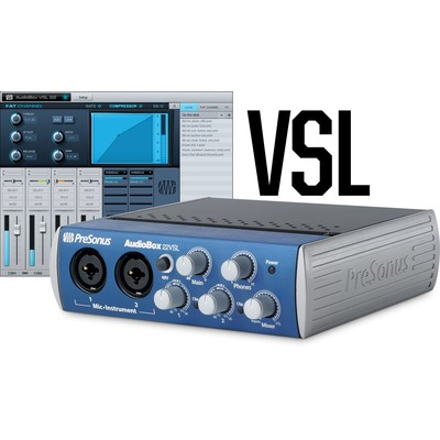 PreSonus AudioBox 22VSL Advanced 2x2 USB 2.0 Recording System - PreSonus - AUDIOBOX-22VSL