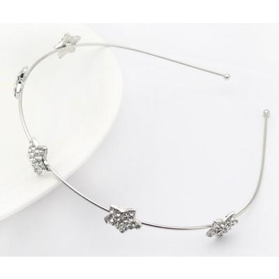 2 X Sparkling Crystal Starry Headband
