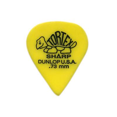Dunlop Tortex Sharp Guitar Picks - .73mm, 12 Pack - Jim Dunlop - 412P.73